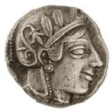 Münze. Vergrösserte Ansicht