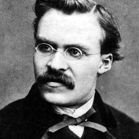 Friedrich Nietzsche. Vergrösserte Ansicht