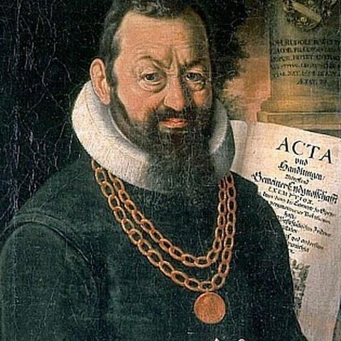 Johann Rudolf Wettstein. Vergrösserte Ansicht