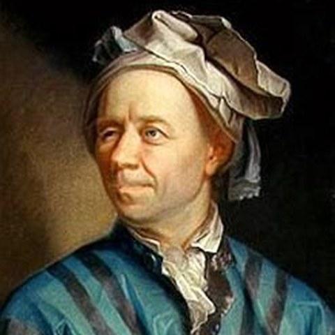 Leonhard Euler. Vergrösserte Ansicht