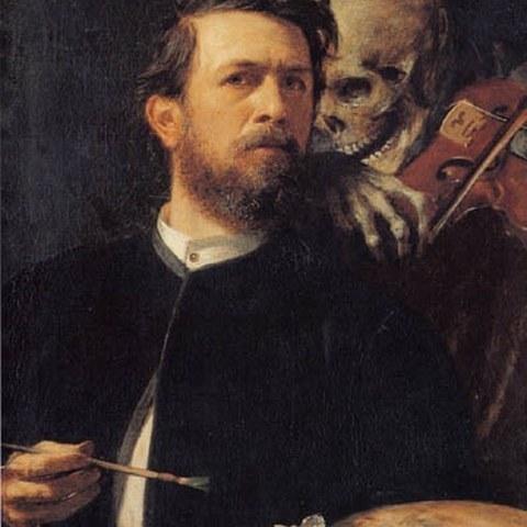 28_Arnold Böcklin, enlarged picture.