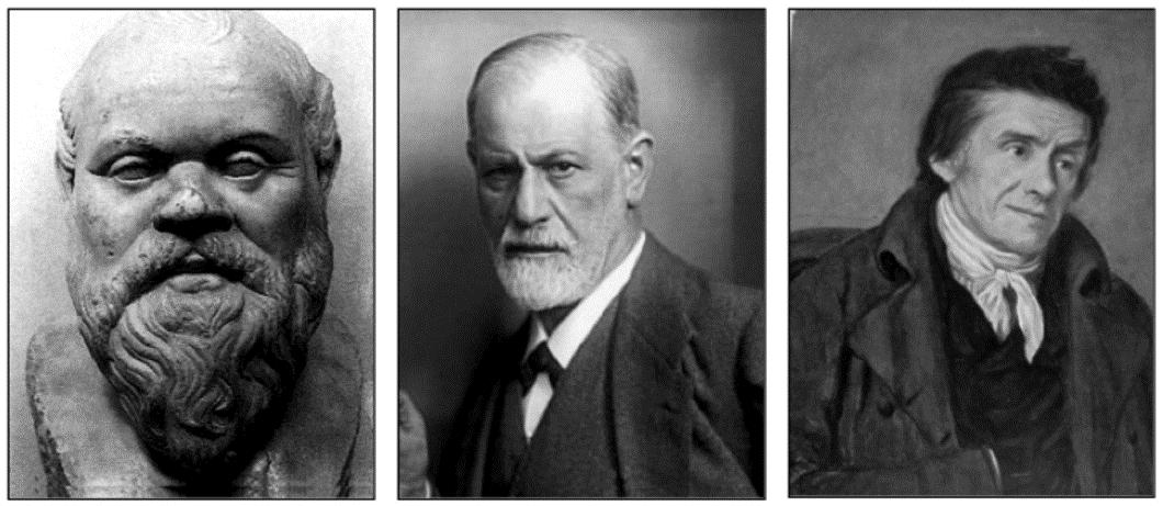 Sokrates, Freud, Pestalozzi