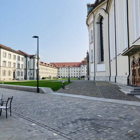 Stiftsbezirk St. Gallen. Vergrösserte Ansicht
