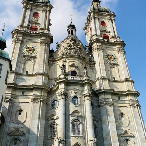 Stiftskirche St. Gallen. Vergrösserte Ansicht