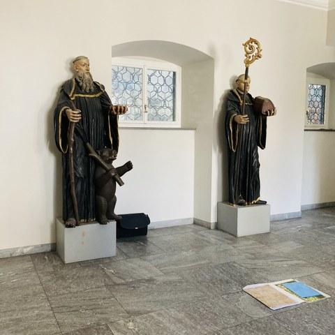 Die Heiligen Gallus und Otmar. Vergrösserte Ansicht